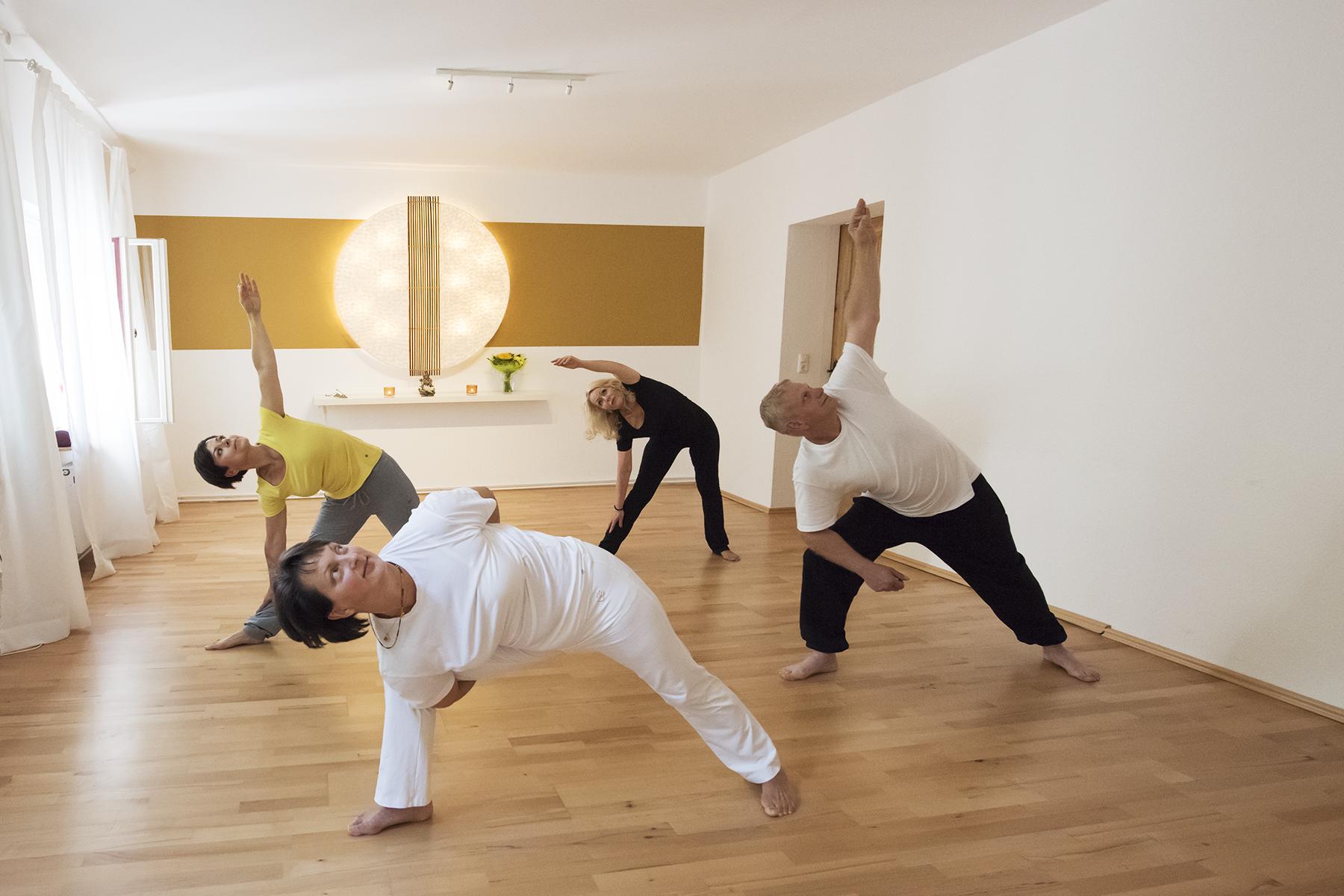Yoga zur Fettverbrennung